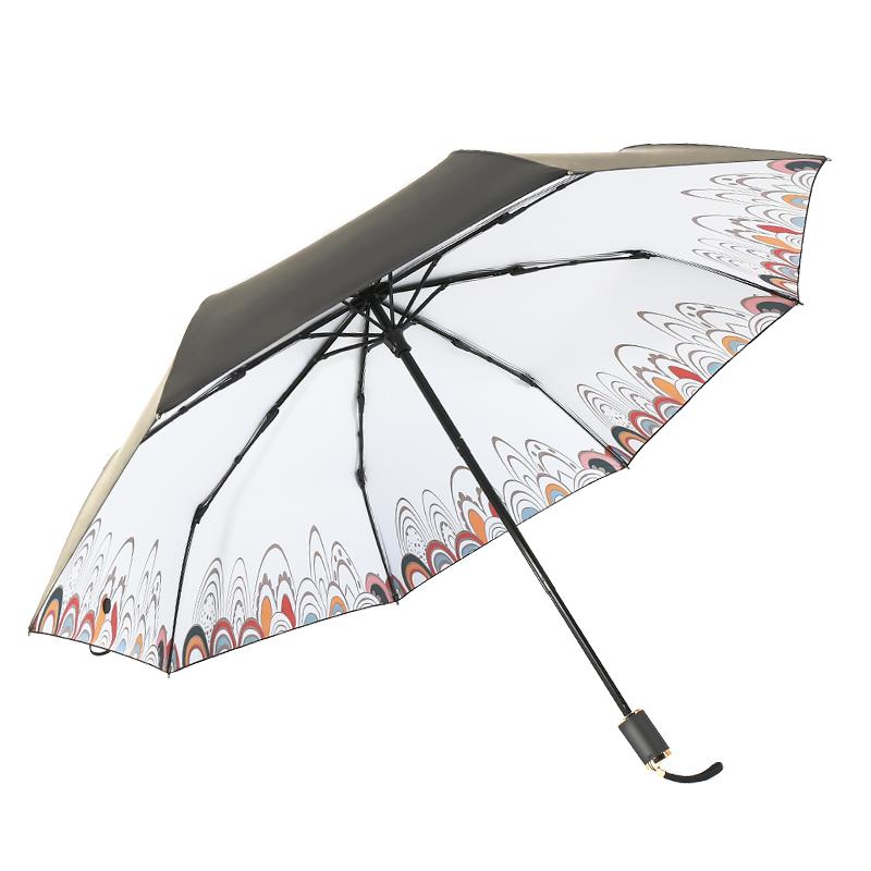 简约时尚的防嗮伞是大家的新宠